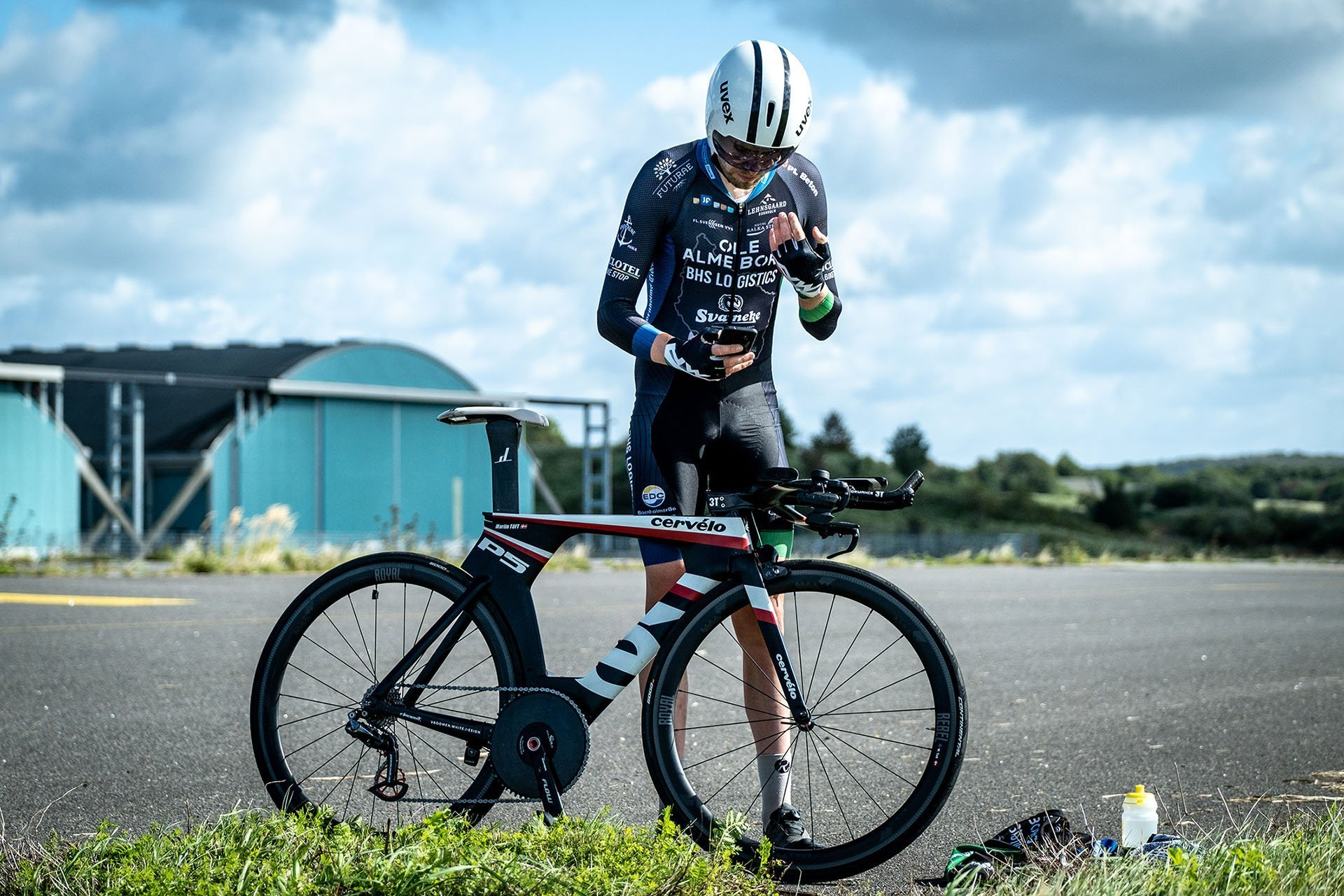 Martin Toft Madsen was testing three different Parentini aerosuits for the Danish Cycling Federation prior to the World Championships in Yorkshire.