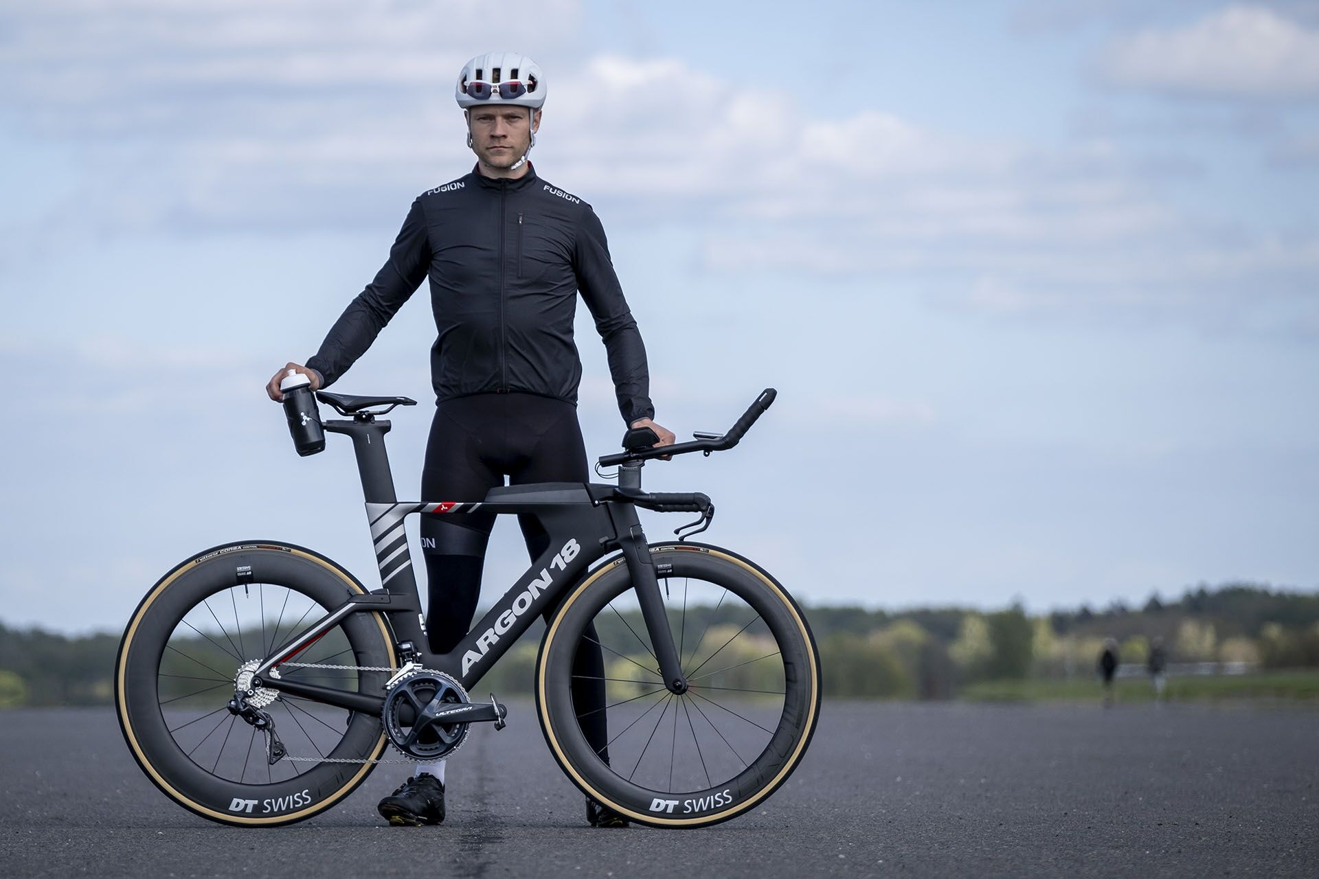 Morten Falk on our E-119 Tri+ race edt.